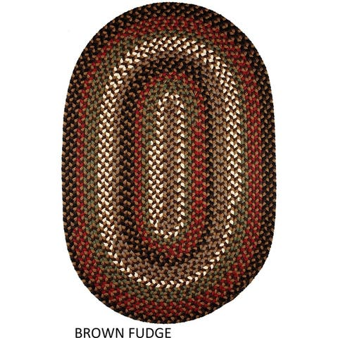 Rhody Rug Jamestown Indoor/Outdoor Braided Rug