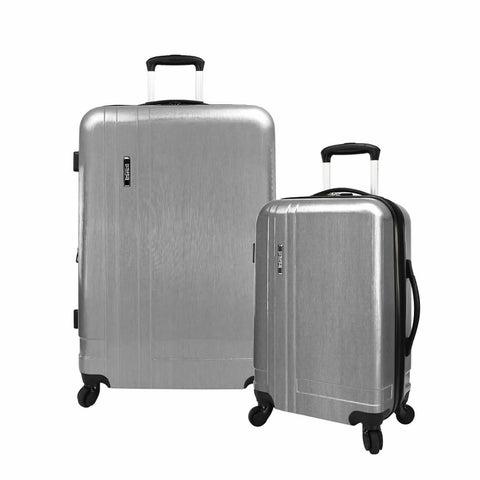U.S. Traveler 2-Piece Lightweight Expandable Hardside Spinner Luggage Set