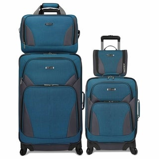 Travel Select 4-Piece Softside Spinner Luggage Set