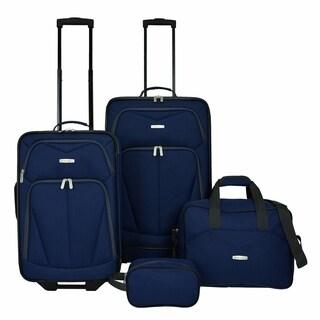 Travel Select Kingway 4-Piece Luggage Set