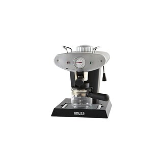 IMUSA GAU-18206 Gourmet Espresso and Cappuccino Maker 4-Cup, Silver