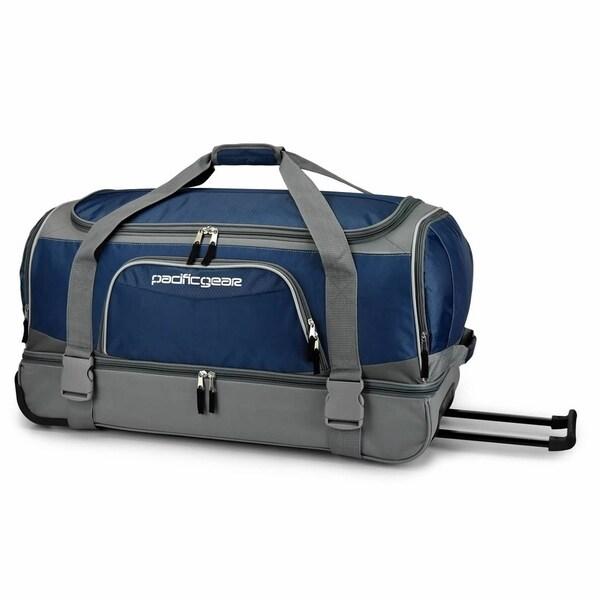 e6c8c3c4af27 Shop Pacific Gear 30-inch Drop-Bottom Rolling Duffel Bag - Free ...