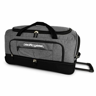 "Pacific Gear Keystone 30"" Drop-Bottom Rolling Duffel Bag"