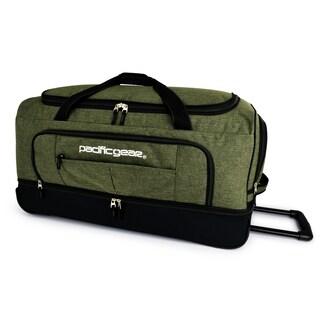 "Pacific Gear Keystone 30"" Drop-Bottom Rolling Duffel Bag (Option: Olive)"