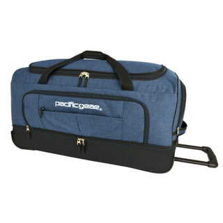 """Pacific Gear Keystone 30"""" Drop-Bottom Rolling Duffel Bag (Option: Grey)"""