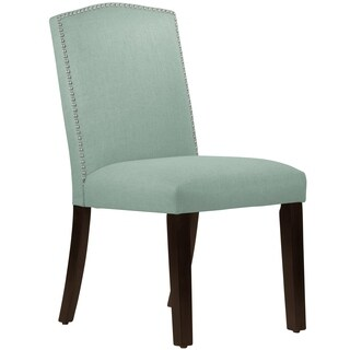 Skyline Furniture Nail Button Camel Back Dining Chair in Klein - N/A