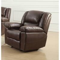 Oregon Gilded Cloth Fabric Reclining Sofa+Chair Living Room Set