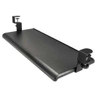 Etonnant Alera AdaptivErgo Clamp On Black Keyboard Tray, 27 1/2 In X 12