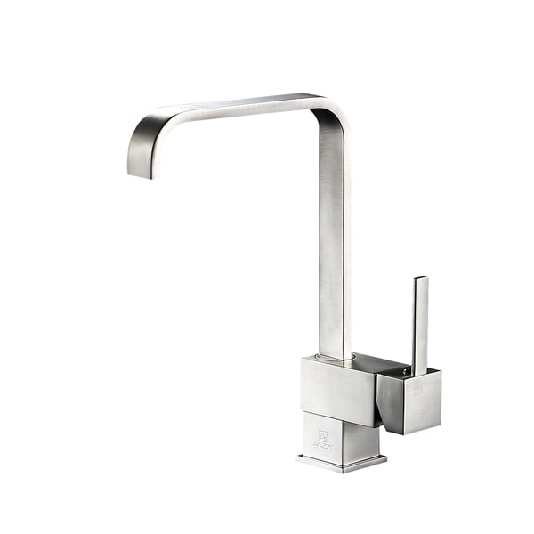 ANZZI Sabre Single-Handle Standard Kitchen Faucet in Brushed Nickel - Silver. Opens flyout.