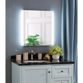 Harlow 26-inch Square LED Mirror