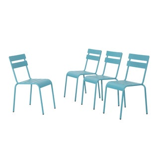 Lacina Outdoor Dining Chairs (Set of 4) by Christopher Knight Home