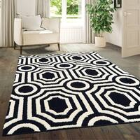 "Westfield Home Hecate Hebe Onyx Area Rug - 5'3"" x 7'2"""