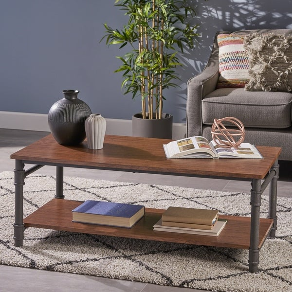 Cagny Industrial Coffee Table by Christopher Knight Home