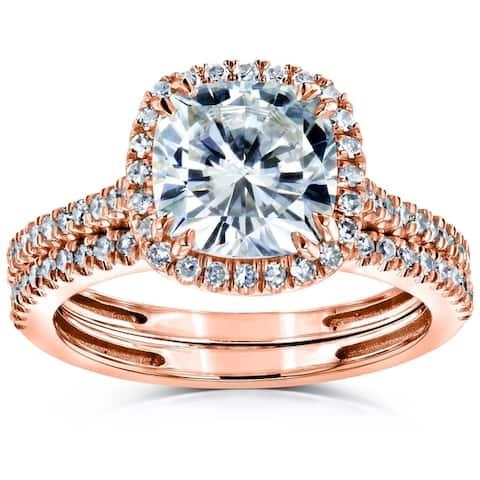 6fec2db1d494e Buy Rose Bridal Sets Online at Overstock | Our Best Wedding Ring Set ...