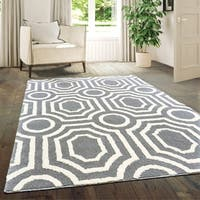 """Westfield Home Hecate Hebe Silver Area Rug - 5'3"""" x 7'2"""""""