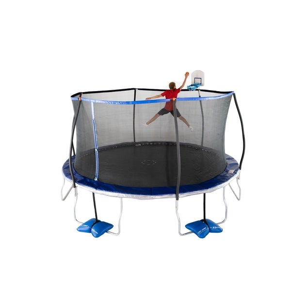 Shop TruJump 15-Feet Trampoline With Tru-Steel Enclosure