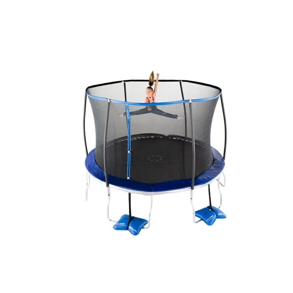 Shop TruJump 12-Feet Trampoline With Tru-Steel Enclosure
