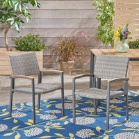 Luton Outdoor Dining Chair (Set of 2) by Christopher Knight Home
