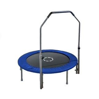 TruJump 48-Inch Mini Trampoline with Handle Bar