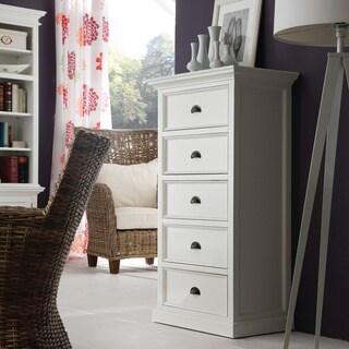 Havenside Home Keansburg White Mahogany 5-drawer Chest