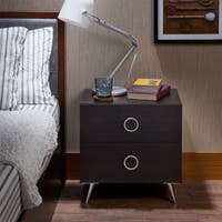 Palm Canyon Biltmore Mid-century Modern Multicolor 2-drawer Nightstand