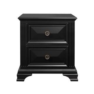Copper Grove Ettrick Antique Black Finish Nightstand