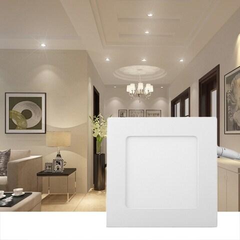 10pcs/set Energy Saving Square Shape AC85-265V LED Light 15W Dimmable