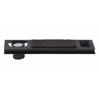 """Offex Premier Powder Coated Metal Art Tray 24"""" - Charcoal"""