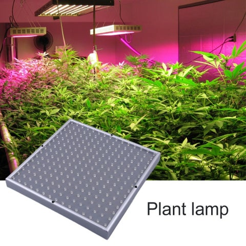 225 LED 700LM Grow Light Quad-band Square Full Spectrum Plant Light