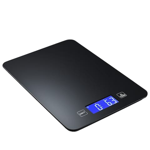 Wireless Bluetooth Smart Food Scale Digital with Tempered Glass