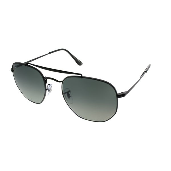 8329cab24e1 Ray-Ban Aviator RB 3648 The Marshal 002 71 Unisex Black Frame Grey Gradient