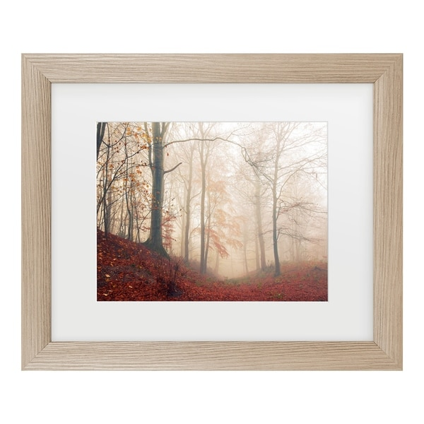 Leif Londal 'Waiting For The Deer' Matted Framed Art