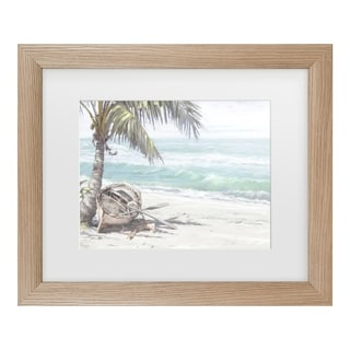 The Macneil Studio 'Boat On Beach' Matted Framed Art
