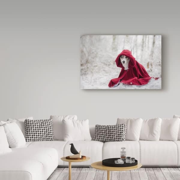 Shop Heike Willers Little Red Riding Hood 1 Canvas Art