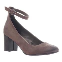 Women's Madeline Bulb Ankle Strap Pump Deep Earth Textile