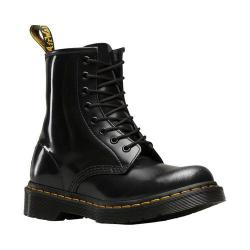 Women's Dr. Martens 1460 8-Eye Boot W Silver Arcadia Rub-Off Leather