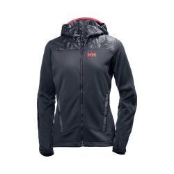 Women's Helly Hansen ULLR Midlayer Jacket Graphite Blue