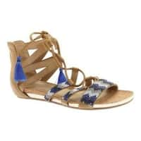 Women's Kenneth Cole Reaction Lost Look Lace Up Sandal Almond Polyurethane