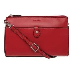 Women's Lodis Audrey RFID Vicky Convertible Crossbody Clutch Red - Thumbnail 0