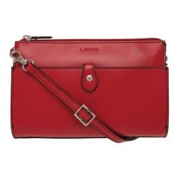 Women's Lodis Audrey RFID Vicky Convertible Crossbody Clutch Red