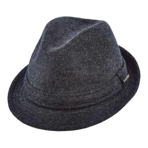 4ee3a8f19b685 Shop Men s Stetson STW256 Blend Fedora Charcoal - Free Shipping On Orders  Over  45 - Overstock - 18819765