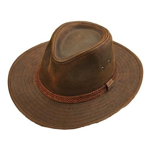 11710dee74424 Shop Men s Stetson STW267 Fedora Brown - Free Shipping Today ...