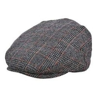 e28e36bc11cef Shop Men s Stetson STW281 Harris Tweed Flat Cap Brown - Free ...