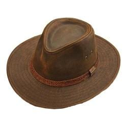Men's Stetson STW267 Fedora Brown