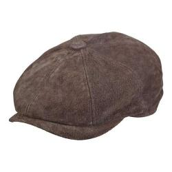 Men's Stetson STW284 Newsboy Cap Brown