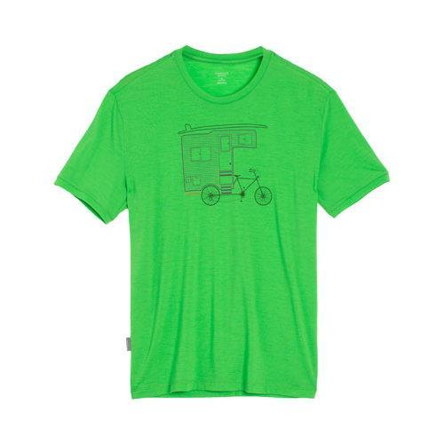 6499dc9222e Shop Men's Icebreaker Tech Lite Short Sleeve Crewe Shirt Camper Bike Balsam  - Free Shipping Today - Overstock - 18821774
