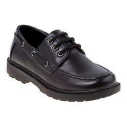 Boys' Josmo O-8903M Moc Toe Derby Black