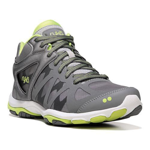 Womens Nite Running Shoe, Grey/Lime, 7 M US Rykä