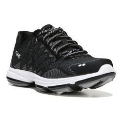 Women's Ryka Dominion Walking Shoe Black/White