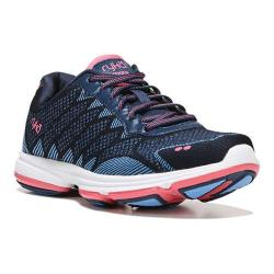 Women's Ryka Dominion Walking Shoe Insignia Blue/Elsa Blue/Coral Rose (More options available)